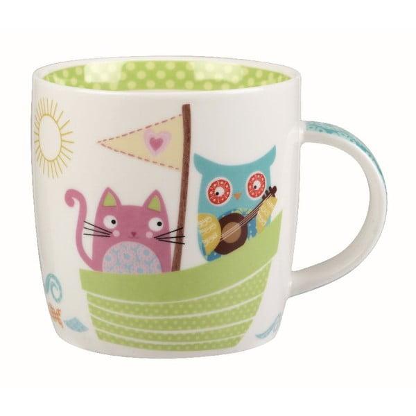 Hrnček v darčekovom boxe Owl & Cat, 284 ml
