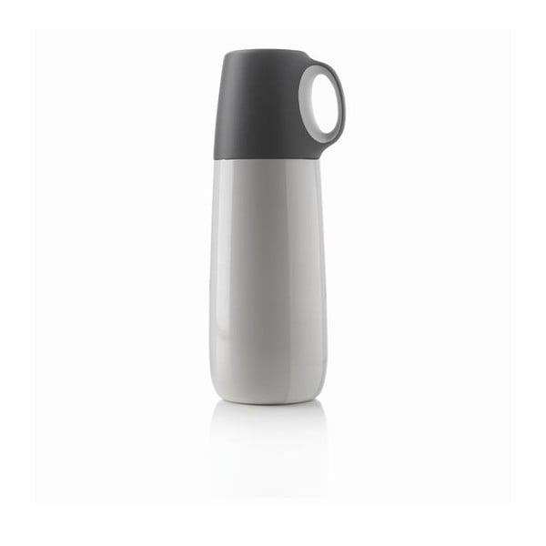 Biela termoska s hrnčekom XDDesign Bopp, 600 ml