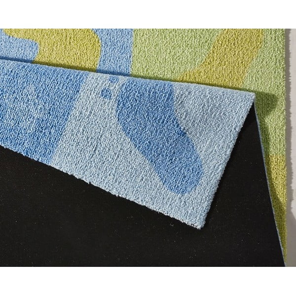 Detský koberec Hanse Home Kiddy Stopy, 100×100cm