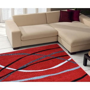 Koberec Webtappeti Intarsio Red, 140×200cm