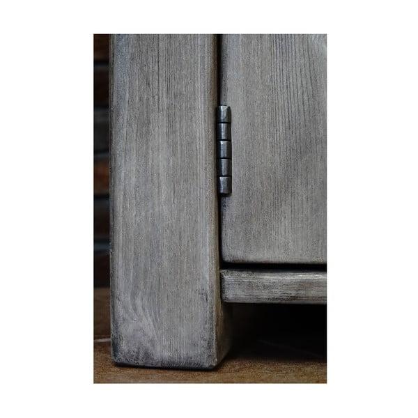 Komoda s 5 šuflíkmi Seart z masívnej borovice, 160x77 cm