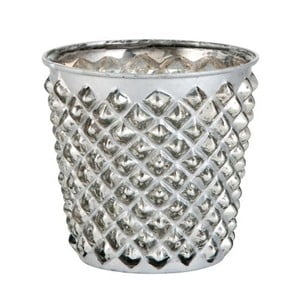 Svietnik Studs Silver, 10x10x10x cm