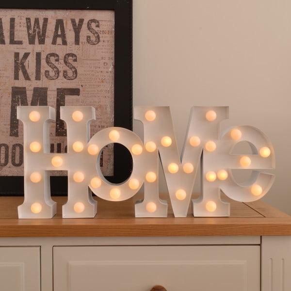 Dekoratívne svetlo Carnival Home, biele