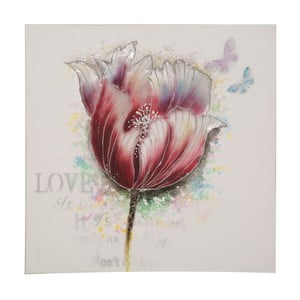 Ručne maľovaný obraz Mauro Ferretti Tulip, 80 x 80 cm