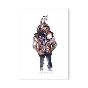 Plagát Jeffrey the Mule, 30x42 cm