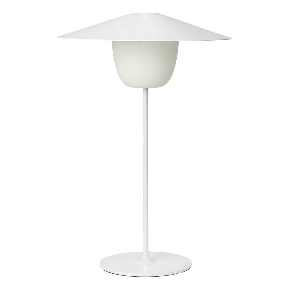 Biela stredná LED lampa Blomus Ani Lamp