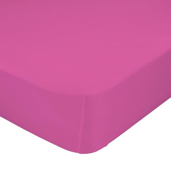 Ružová elastická plachta Happynois, 60x120 cm