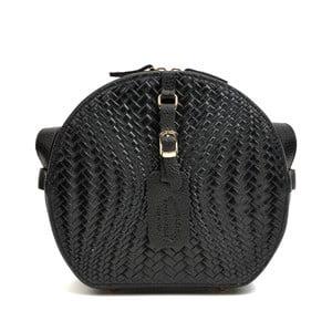 Čierna kožená kabelka Roberta M Minilasito