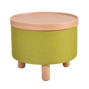 Zelená stolička Garageeight Molde s odnímateľným vrchom, veľkosť L