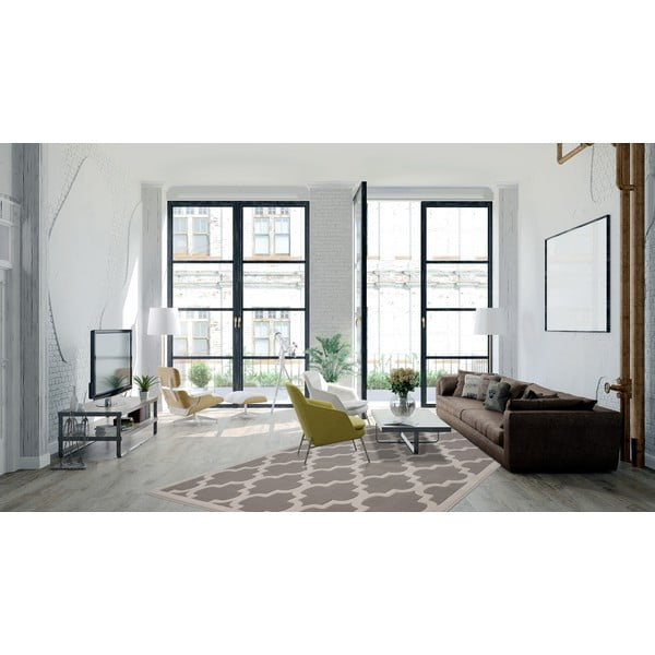 Strieborný koberec Maroc 160x230cm