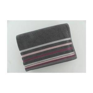 Set 2 osušiek Grey Purple, 70x140 cm