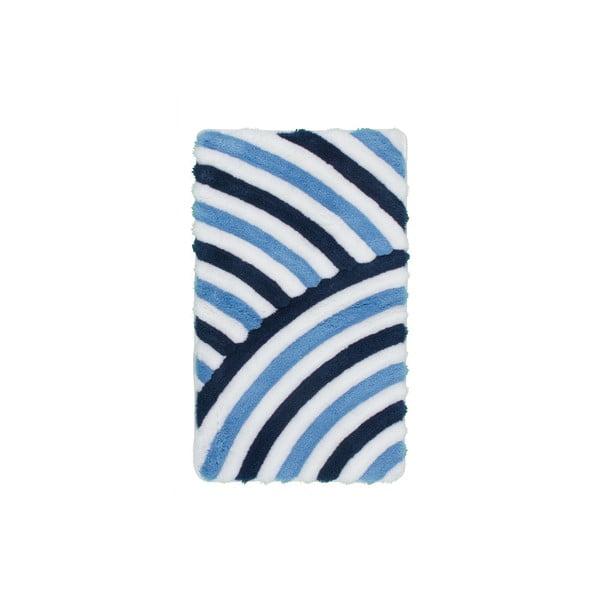 Kúpeľňová predložka Lobby Blue, 65x110 cm
