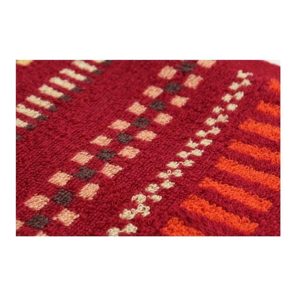 Set 2 osušiek Red on Red, 70x140 cm