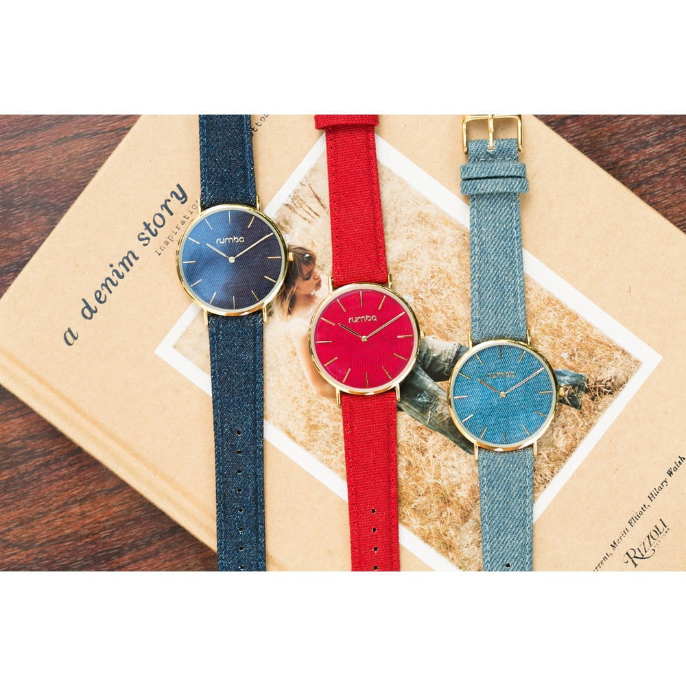 ... Dámske modré hodinky Rumbatime Soho Denim ... 3c98e17027a