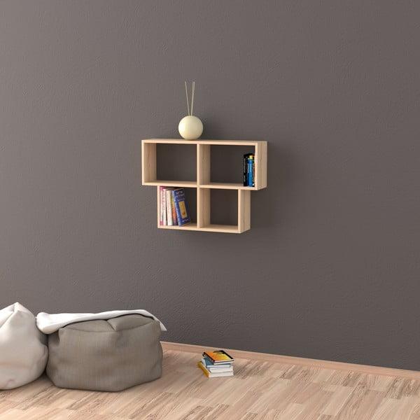 Polica Head 61x85 cm, dekor dub