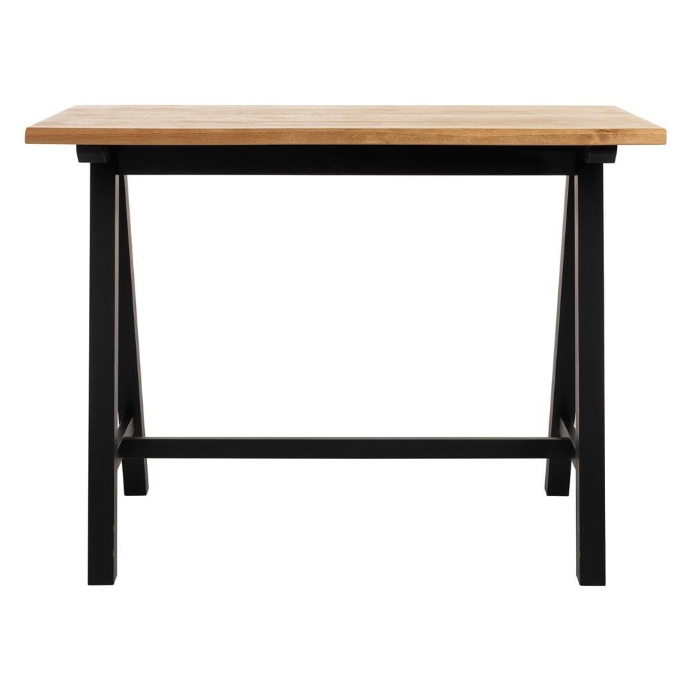 Barový stolík z dreva bieleho duba Unique Furniture Oliveto