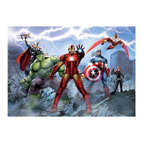 Veľkoformátová tapeta Avengers hrdinovia, 158x232 cm
