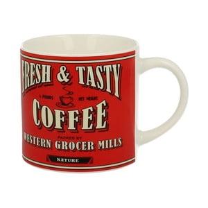 Červený porcelánový hrnček Duo Gift Coffee, 430 ml