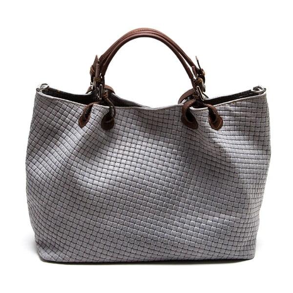 Nákupná kožená taška Grigio 8019