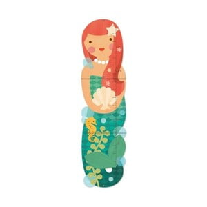 Detský nástenný meter Petit collage Miss Mermaid
