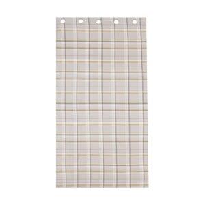 Záves St. Ives Check Ochre, 168x183 cm