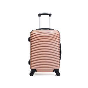 Cestovný kufor vo farbe ružového zlata na kolieskach Hero Etna, 96 l
