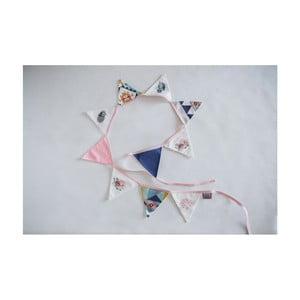 Dievčenská vlajková girlanda Vigvam Design Cute Tribe