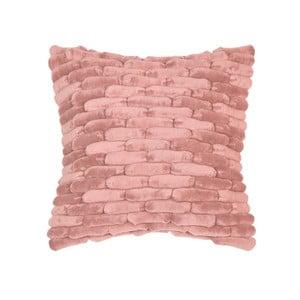 Ružový vankúš ZicZac  Cobble Stone, 45x45cm