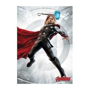 Nástenná ceduľa Age of Ultron Power Poses - Thor