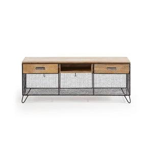 Televízny stolík z mangového dreva La Forma Interni, 120,5 × 46 cm