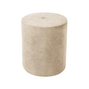 Béžová taburetka Kooko Home Motion, ø 40 cm