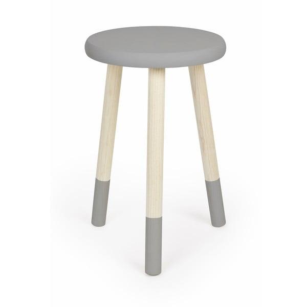 Stolička na sedenie Socks, sivá