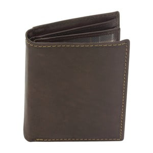 Hnedá kožená peňaženka Friedrich Lederwaren Stitch