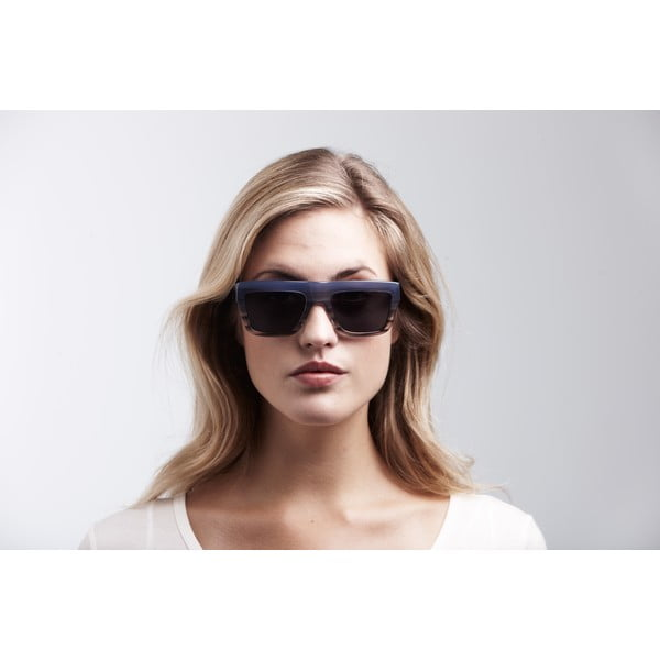 Unisex slnečné okuliare s modrým rámom Triwa Sky Fade Alex