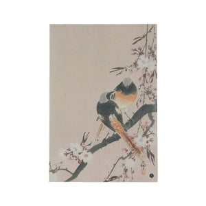 Plagát z ručne vyrábaného papiera BePureHome Pinktails, 47 × 32 cm
