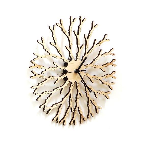 Drevené hodiny Dandelion, 29 cm