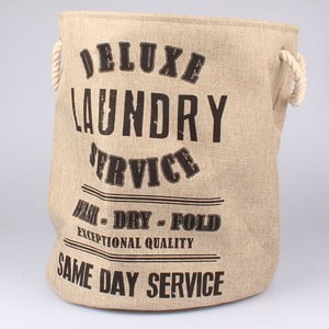 Kôš na bielizeň Laundry Service, béžový