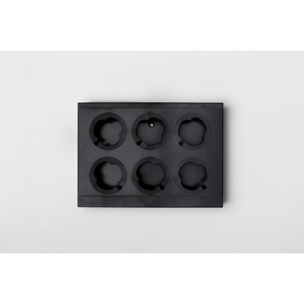 Vertikálny kvetináč HOH! Nero, 38x27 cm