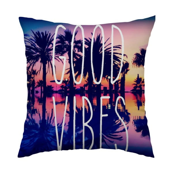 Vankúš Good Vibes, 40x40 cm