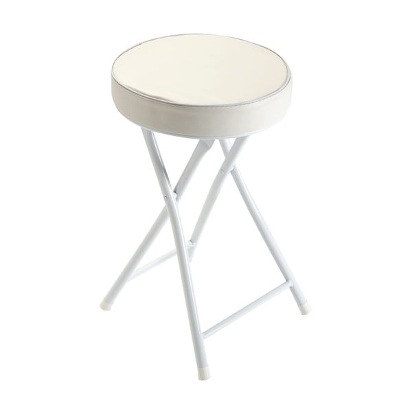 Biela rozkladacia stolička Versa Sam