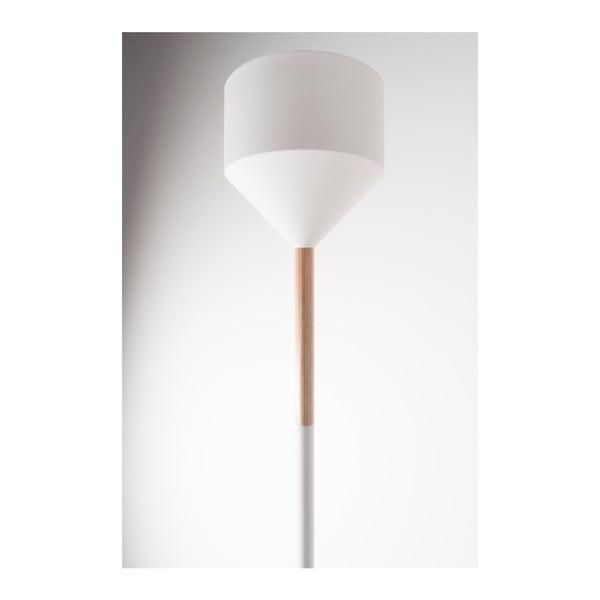 Biela stojacia lampa Zuiver Torch