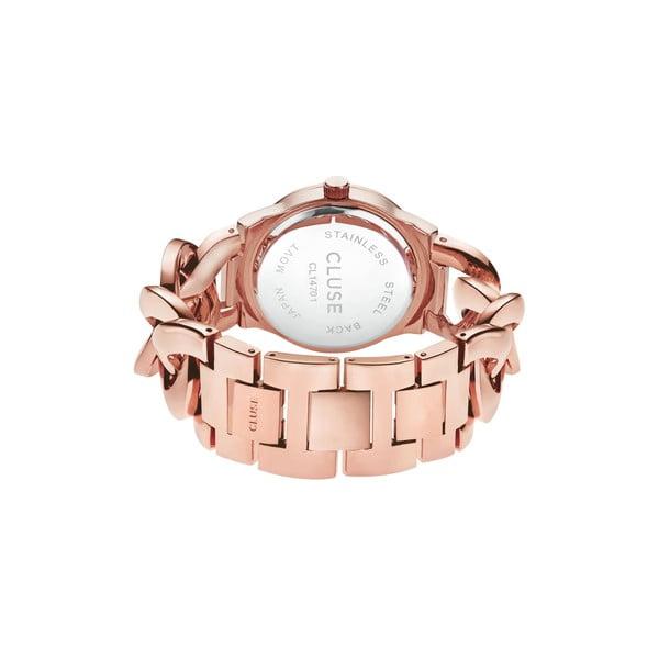 Dámské hodinky Brillante Rose Gold/Royal Blue, 38 mm