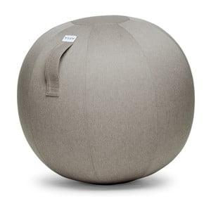 Béžovosivá lopta na sedenie VLUV Leiva, Ø70-75cm