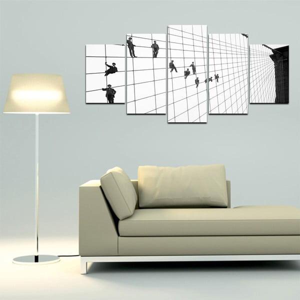 Viacdielny obraz Black&White no. 36, 100x50 cm