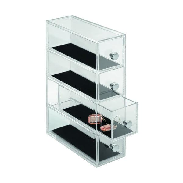 Organizér InterDesign Clarity, výška 25,5 cm