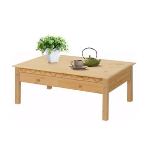 Konferenčný stolík z borovicového dreva Støraa Lando Harry
