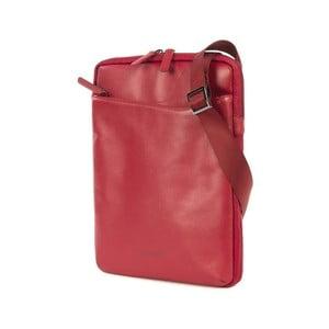 Červená taška crossbody z talianskej kože Tucano City Bag