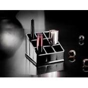 Čierny organizér na 9 rúžov Compactor