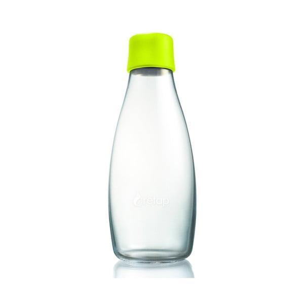 Limetková sklenená fľaša ReTap s doživotnou zárukou, 500ml