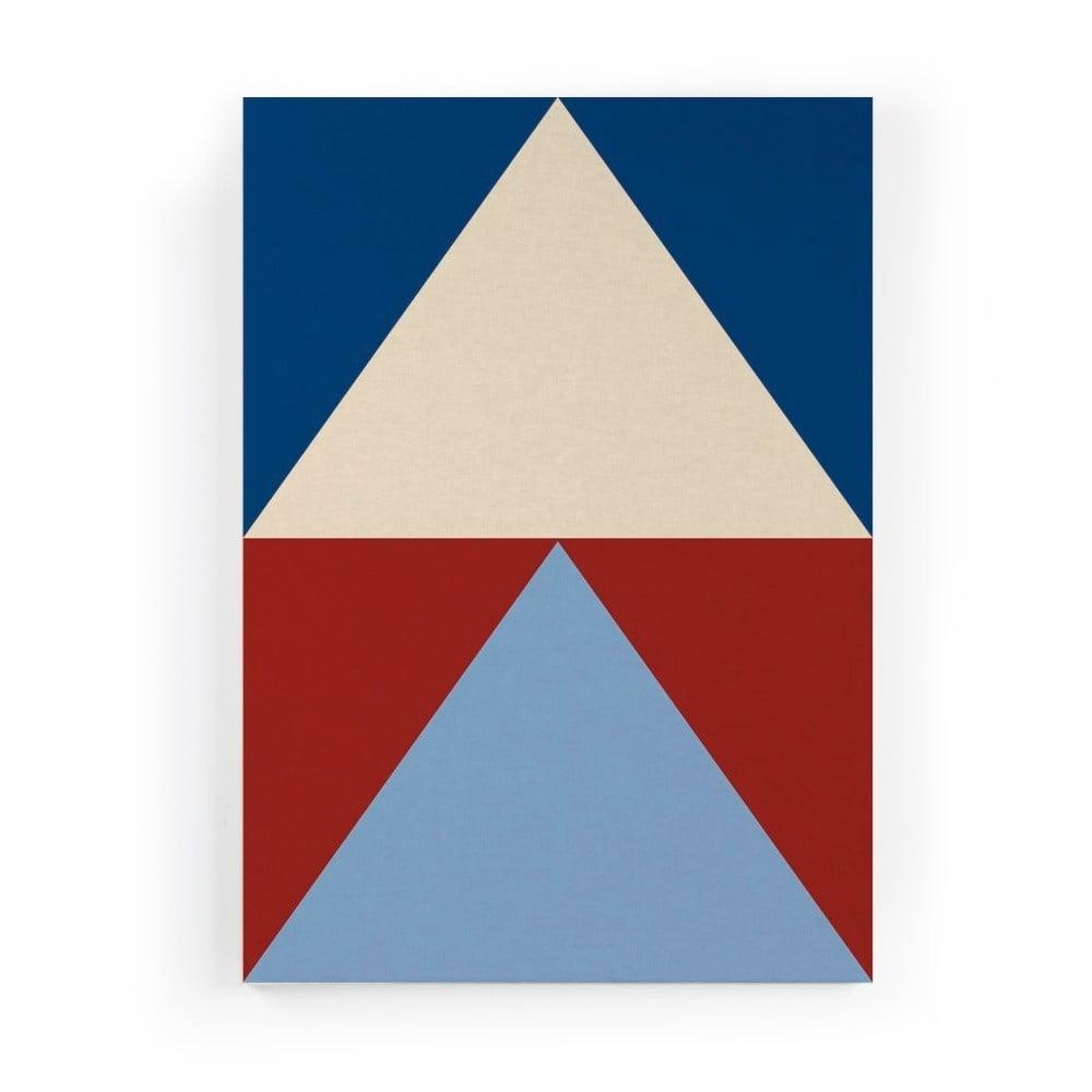 Obraz na plátne Really Nice Things Colorful Triangles, 50 × 70 cm